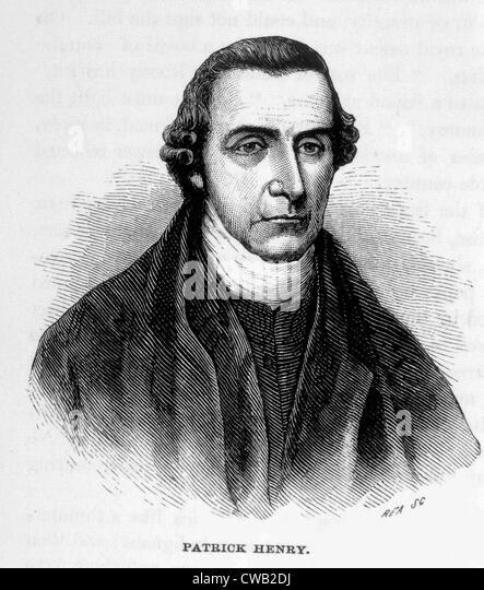 Patrick Henry (1736-1799) - Stock Image