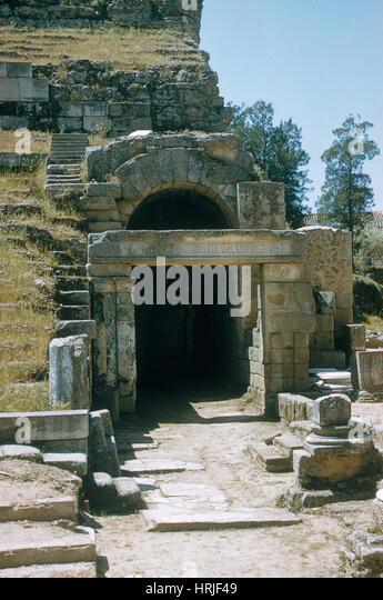 Ancient Roman Theater - Stock Image