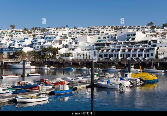 Puerto del carmen lanzarote harbour stock photos puerto del carmen lanzarote harbour stock - Port del carmen lanzarote ...