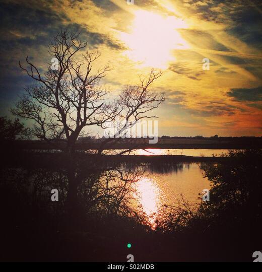 Peaceful vista - Stock Image