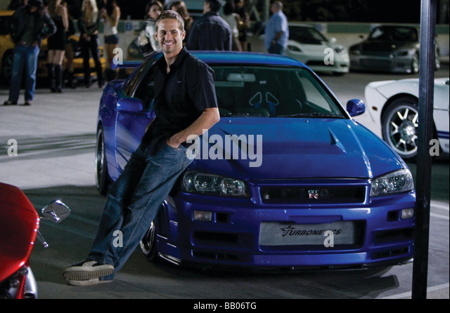 Fast and Furious Year : 2009 Director : Justin Lin Paul Walker - Stock Image