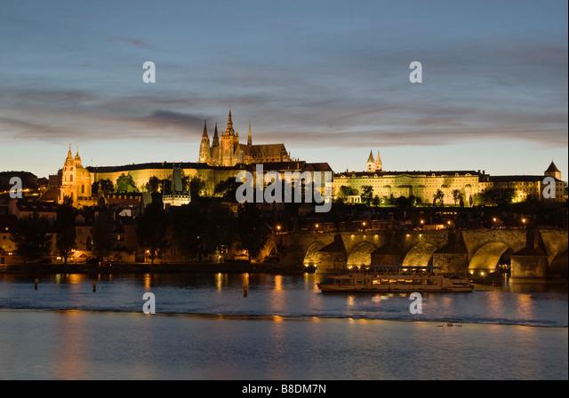 Castle district prague - Stock Image
