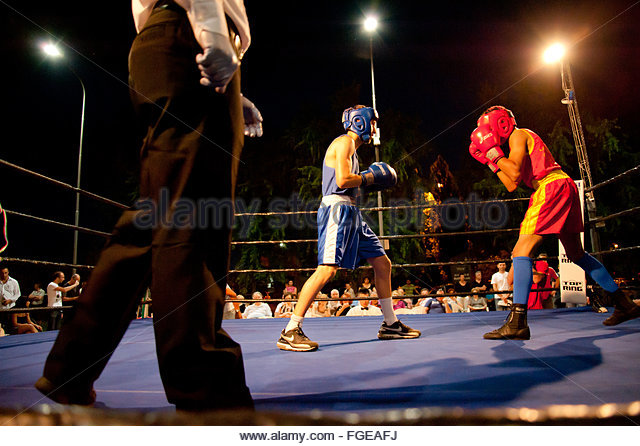 boxing - Stock Image