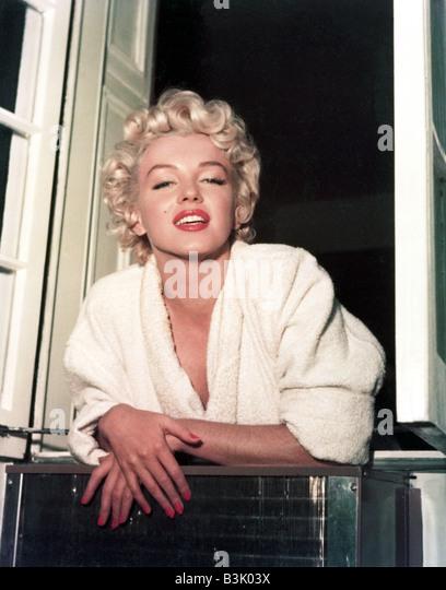 MARILYN MONROE US film actress - Stock Image
