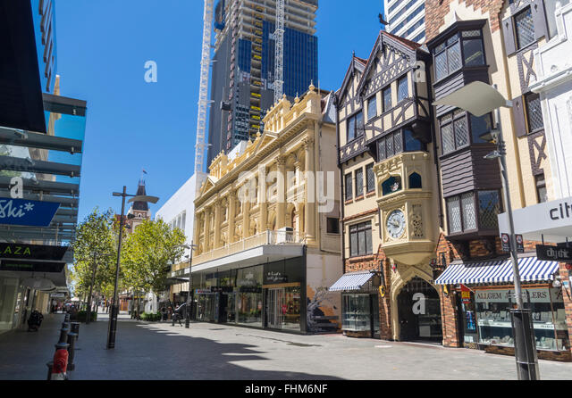Perth australia mall shopping stock photos perth for 189 st georges terrace perth