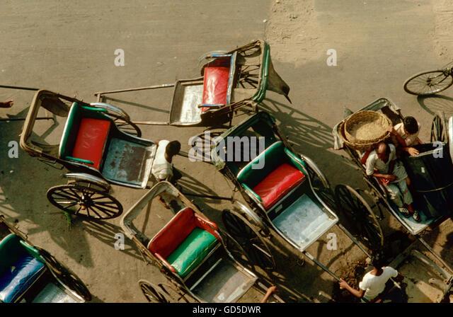 Rickshaws - Stock Image