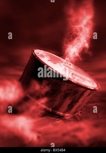 Oil crisis, conceptual artwork - Stock Image