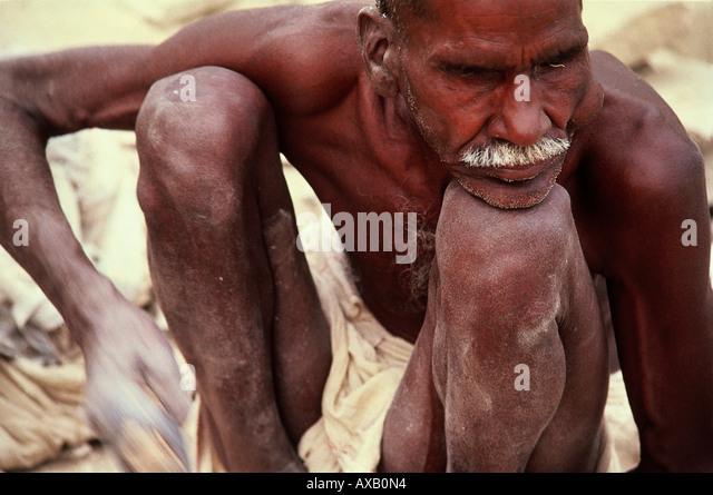 Sadhu, Indien - Stock-Bilder