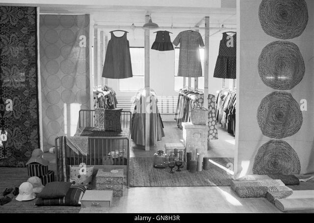 Benjamin C. Thompson's Design Research warehouse in Cambridge, Massachusetts, 1964. - Stock Image