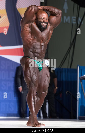 March 3rd 2017, Columbus, OH, USA; Charles Dixon (7) competes in the Arnold Classic 212 as part of the Arnold Sports - Stock-Bilder