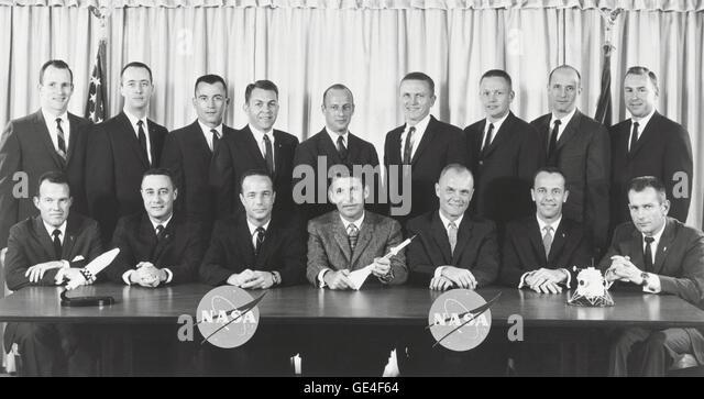 original seven astronauts selected - photo #19