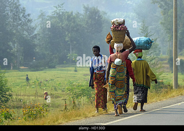 Uganda Africa - Stock Image