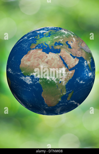 Earth day - Stock Image