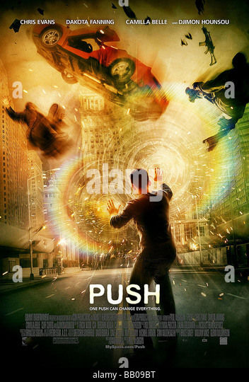 Push Year : 2009 Director :  Paul McGuigan Movie poster - Stock Image