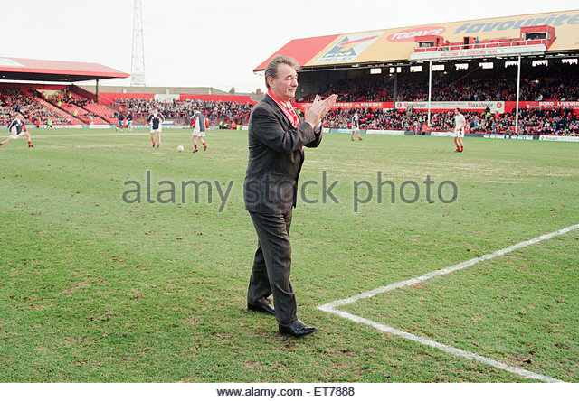 Brian Clough, former Middlesbrough player and retired manager, returns to Ayresome Park, to celebrate the 75th Birthday - Stock Image