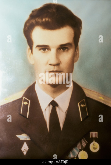 STANISLAV PETROV, STANISLAW PETROW, MAN WHO SAVED THE WORLD FROM A NUCLEAR WAR, ATTACK, SOVIET MILITARY OFFICER, - Stock Image