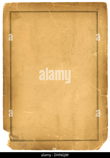 Real 1800s Antique Parchment Paper Background Texture - Stock-Bilder