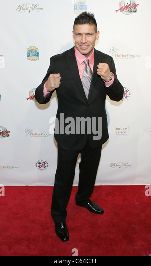 Sergio Martinez (WBC World Middleweight Boxing Champion) in attendance for All In For CP Celebrity Charity Poker - Stock Image