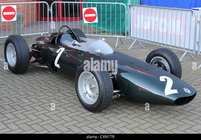 Bourne,Lincolnshire 7th October 2012 : Graham Hill's 1962 BRM P578 'Old Faithful' racing car - Stock Image