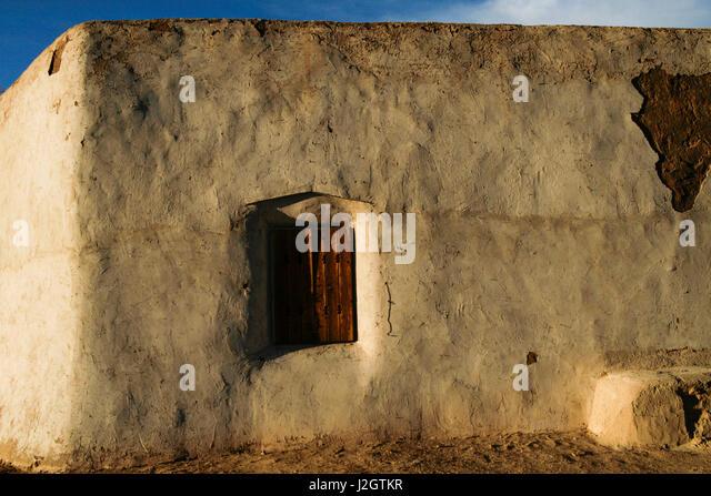Abiquiu, New Mexico. Old Spanish Penitente morada. Georgia O'Keefe country, - Stock Image
