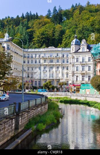 Grandhotel Pupp - Spa Sanatorium z 1907, Karlovy Vary, Ceska republika - Stock-Bilder