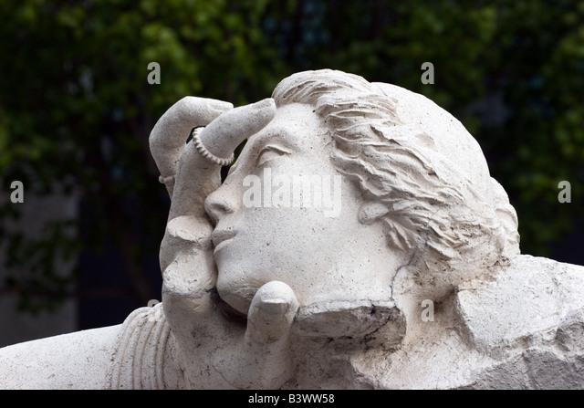 sculpture art modern california sacramento - Stock Image