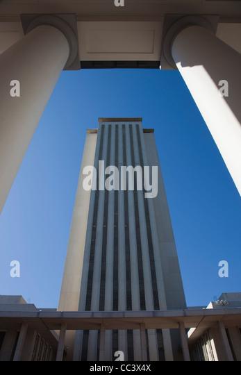USA, Florida, Tallahassee, State Capitol Building - Stock-Bilder