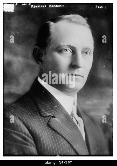Raymond Benjamin (LOC) - Stock Image