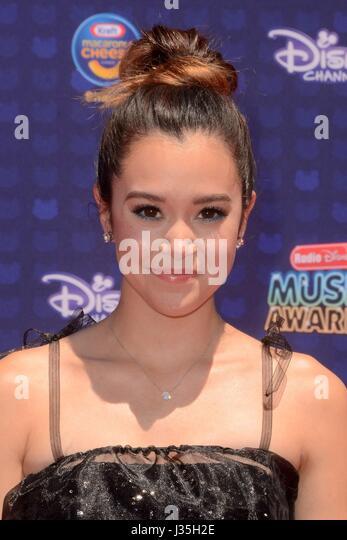 Megan Nicole at arrivals for Radio Disney Music Awards - ARRIVALS, Microsoft Theater, Los Angeles, CA April 29, - Stock-Bilder