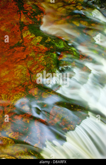 Neddfechan river Brecon Beacons National Park Powys Wales - Stock-Bilder