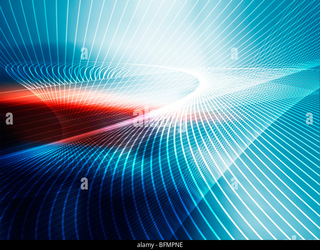 Abstract line pattern, artwork - Stock Image