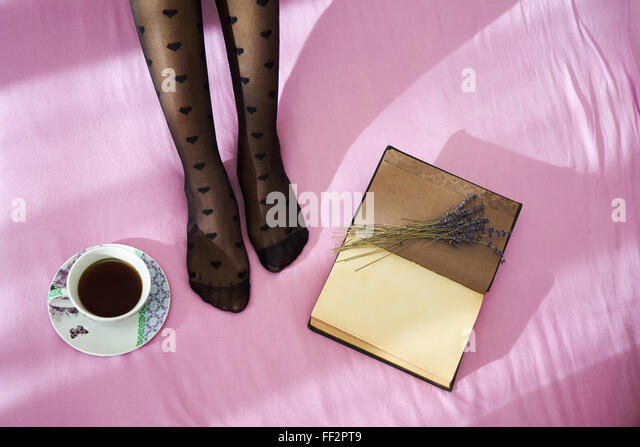 Woman Stockings Old Stock Photos Amp Woman Stockings Old