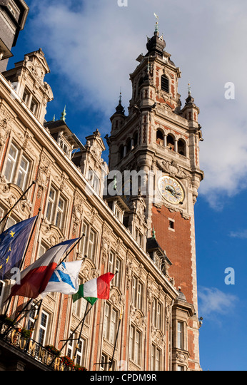Lille france stock photos lille france stock images alamy for Chamber of commerce france