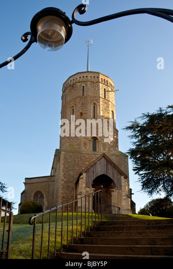Swaffham Parish Church in Norfolk in South East England - Stock Image