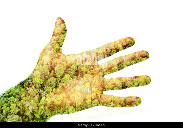 Green Fingers - Stock Image