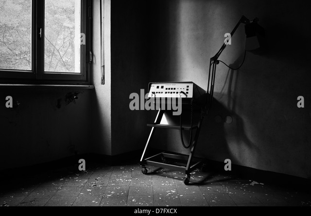 Abandoned medical device - Stock Image