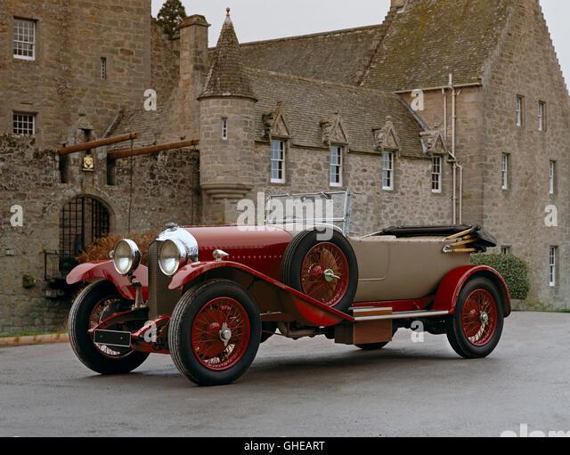 1930 Bentley 4 5 litre open tourer Country of origin United Kingdom - Stock Image