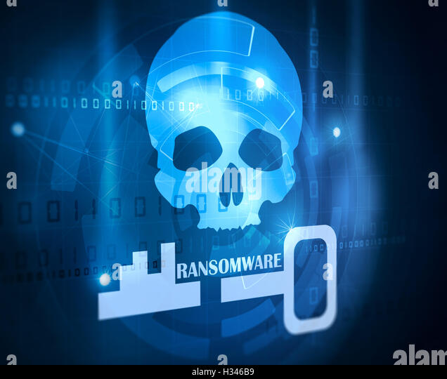 computer antivirus software - Stock Image