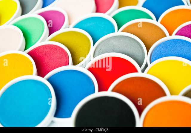 Watercolor pattern - Stock-Bilder