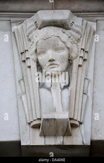 London, England, UK. Unilever House, Newbridge Street, Victoria Embankment. (Neoclassical Art Deco, 1929-31) Art - Stock Image