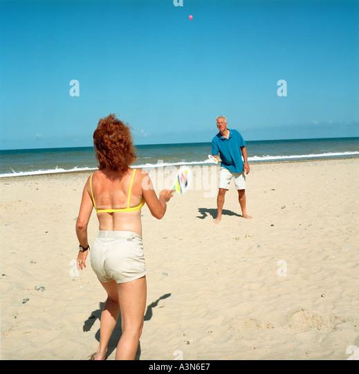 Beach Games - Stock Image