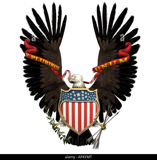 Great Seal United States - Stock Image