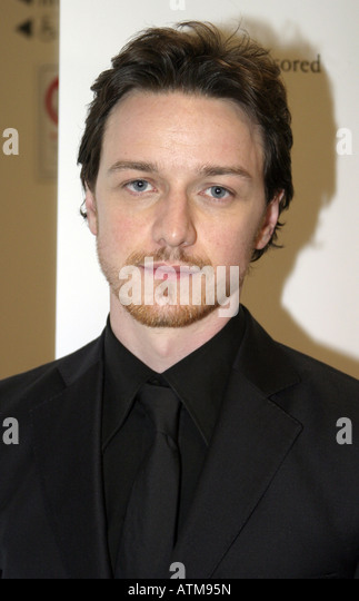 James McAvoy the Scottish actor who has appeared in the films Atonement and The Last King of Scotland - Stock-Bilder