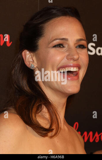 New York, New York, USA. 25th Oct, 2016. Actress JENNIFER GARNER attends the 4th Annual Save the Children Illumination - Stock Image