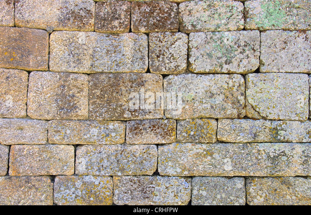 Mauer - wall 13 - Stock Image