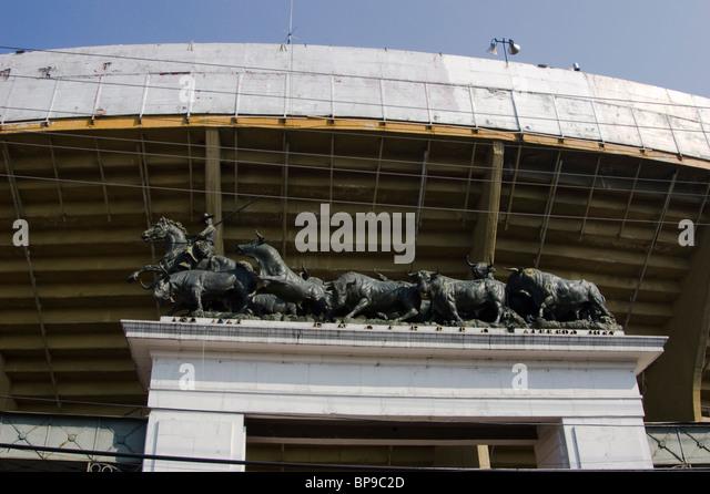 Monumental Plaza Mexico Mexico City Insurgentes - Stock Image
