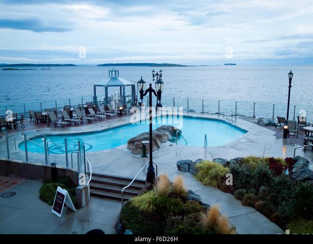Oak Bay Beach Hotel Mineral Pools
