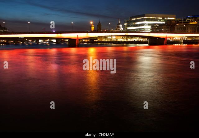 London Bridge, London, UK - Stock Image