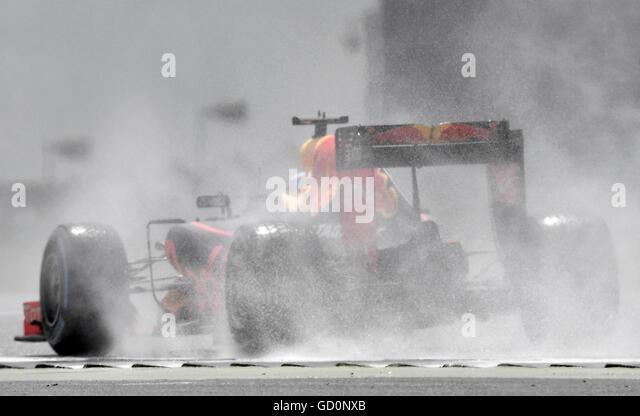 Silverstone, UK. 10th July, 2016. British F1 Grand Prix at Silverstone UK Race Credit:  Leo Mason/Alamy Live News - Stock Image