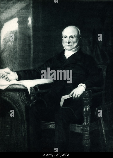 a biography of john quincy adams the sixth president of the united states John quincy adams was the son of former president john adams and abigail  adams  as secretary of state, he negotiated with britain over the united states'   birth of the saviour and predicted by the greatest of the hebrew prophets six.